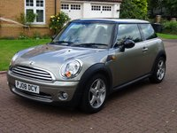 USED 2008 08 MINI HATCH COOPER 1.6 COOPER 3d 118 BHP EXCELLENT CONDITION***  FULL YEAR MOT***  HALF LEATHER***  SERVICE RECORD***