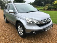 USED 2008 08 HONDA CR-V 2.0 I-VTEC ES 5d 148 BHP PARK ASSIST, CRUISE
