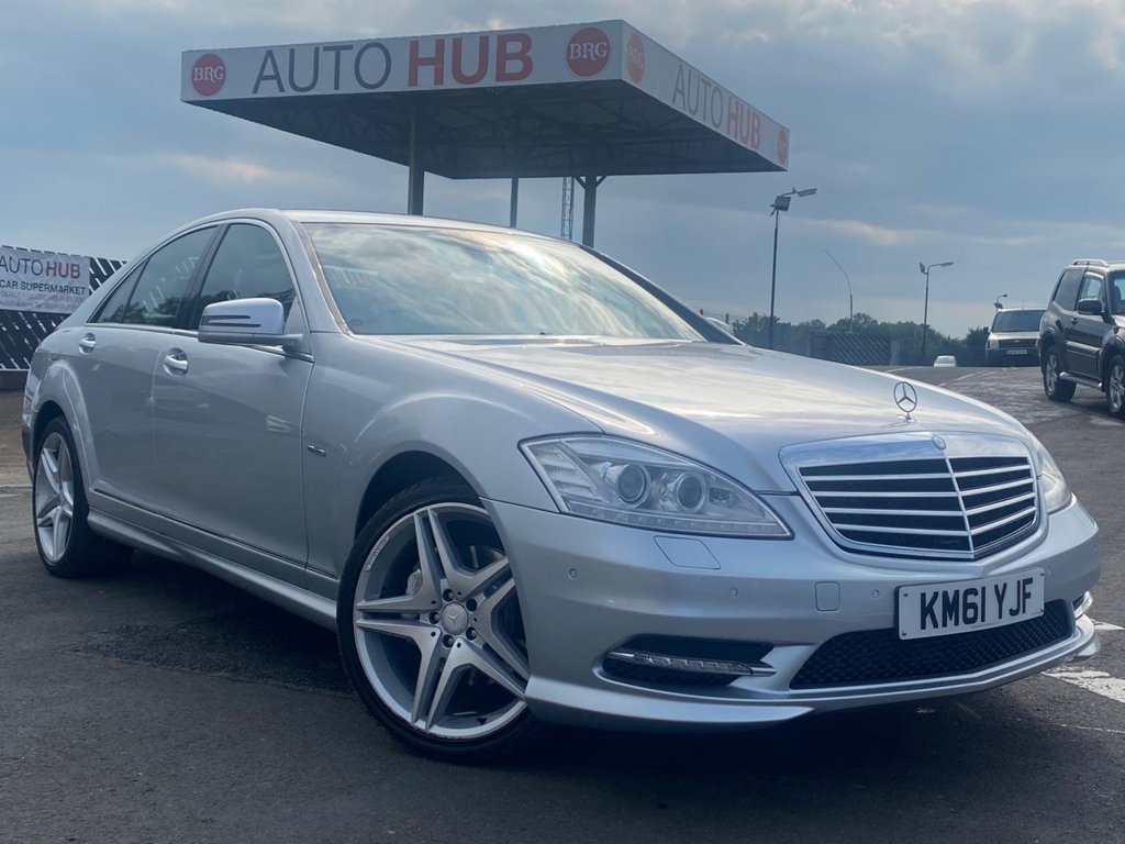 USED 2012 MERCEDES-BENZ S-CLASS S350 3.0 CDi BlueTEC AMG Sport Pack 4dr FULL HISTORY In outstanding condition