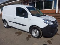 USED 2014 63 RENAULT KANGOO 1.5 ML19 DCI, 75 BHP, FULL SERVICE HISTORY, 1 COMPANY OWNER