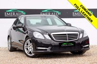 USED 2011 61 MERCEDES-BENZ E CLASS 3.0 E350 CDI BLUEEFFICIENCY SPORT ED125 4d AUTO 265 BHP **£0 DEPOSIT FINANCE AVAILABLE**SECURE WITH A £99 FULLY REFUNDABLE DEPOSIT** COMAND, SAT NAV, BLUETOOTH, FULL BLACK LEATHER, HEATED FRONT SEATS, PARKING SENSORS FRONT & REAR, CRUISE CONTROL