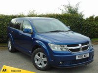 USED 2010 10 DODGE JOURNEY 2.0 SXT CRD 5d AUTO 7 seater 128 POINT AA INSPECTED 7 SEATER with 12 MONTHS FREE AA MEMBERSHIP