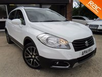USED 2014 14 SUZUKI SX4 S-CROSS 1.6 SZ-T 5d 118 BHP ONE OWNER, SAT NAV, PARKING SENSORS, ISOFIX SEAT PREPARATION, CLIMATE CONTROL, FULL MAIN DEALER SERVICE HISTORY
