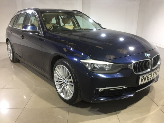 View our 2013 63 BMW 3 SERIES 2.0 320D LUXURY TOURING 5d AUTO 181 BHP