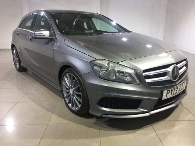 View our 2013 13 MERCEDES-BENZ A CLASS 1.8 A200 CDI BLUEEFFICIENCY AMG SPORT 5d 136 BHP