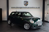 USED 2014 63 MINI HATCH COOPER 1.6 COOPER D 3DR CHILI PACK 112 BHP + CHILI PACK + DAB RADIO + AIR CONDITIONING + AUXILIARY PORT + 15 INCH ALLOY WHEELS +