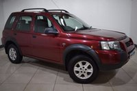 USED 2004 54 LAND ROVER FREELANDER 2.0 Td4 2.0 FREELANDER 5 DOOR