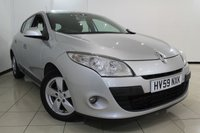 USED 2009 59 RENAULT MEGANE 1.5 DYNAMIQUE DCI 5DR 106 BHP FULL SERVICE HISTORY + AIR CONDITIONING + CRUISE CONTROL + MULTI FUNCTION WHEEL + RADIO/CD + 16 INCH ALLOY WHEELS