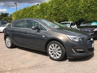 2014 VAUXHALL ASTRA 1.6 ELITE 5d AUTOMATIC. 1 PRIVATE OWNER   £7750.00