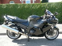 USED 2009 09 KAWASAKI ZZR 1400  D9F ABS  1 Owner, FSH, ABS, Low Mileage
