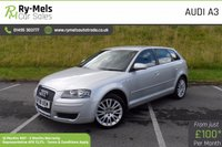 USED 2008 08 AUDI A3 1.8 SPORTBACK TFSI T SE 5d 160 BHP SERVICE HISTORY WITH MAIN DEALER INVOICES