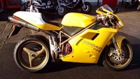 USED 1998 R DUCATI 748 Super Sports Classic Stunning example in yellow