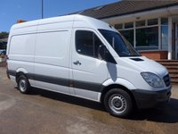 USED 2013 13 MERCEDES-BENZ SPRINTER 316 CDI MWB WITH WELFARE UNIT, 160 BHP [EURO 5], 1 COMPANY OWNER