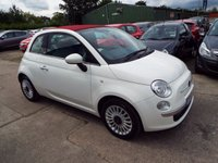 USED 2009 59 FIAT 500 1.2 C LOUNGE 3d 69 BHP FULL SERVICE HISTORY