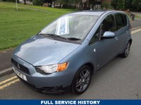 USED 2011 11 MITSUBISHI COLT 1.3 CZ2 5d AUTO 95 BHP FULL SERVICE HISTORY - 47,000 GUARANTEED MILES - 2 OWNERS FROM NEW - SEMI AUTOMATIC
