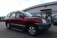 USED 2005 55 HYUNDAI SANTA FE 2.0 CDX CRTD 5d 112 BHP LOW DEPOSIT OR NO DEPOSIT FINANCE AVAILABLE.