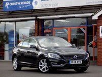 USED 2014 14 VOLVO S60 2.0 D4 SE LUX NAV 4dr AUTO 178 BHP * Leather & Sat Nav *