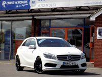 USED 2013 63 MERCEDES-BENZ A CLASS A220 2.1 CDi BLUEEFFICIENCY AMG SPORT 5dr AUTO 170 BHP
