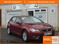 USED 2013 63 SEAT LEON 2.0 TDI SE 5d 150 BHP 2 long life service stamps
