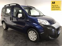 USED 2012 12 PEUGEOT BIPPER 1.2 HDI TEPEE OUTDOOR 5d AUTO 75 BHP FSH-1 OWNER-VERY LOW MILEAGE