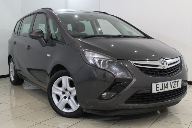 View our 2014 14 VAUXHALL ZAFIRA TOURER 1.4 EXCLUSIV S/S 5DR 138 BHP