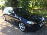 USED 2012 12 BMW 5 SERIES 2.0 520D M SPORT TOURING 5d 181 BHP