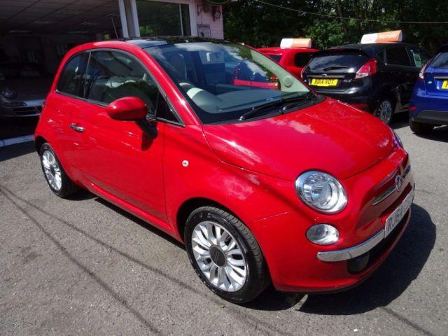 2015 64 FIAT 500 1.2 LOUNGE 3d 69 BHP
