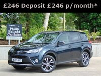 2015 TOYOTA RAV4 2.0 D-4D ICON 5d 124 BHP £SOLD