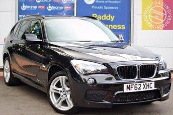 2012 BMW X1 2.0 XDRIVE20D M SPORT 5d 174 BHP £11689.00