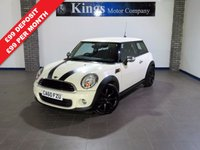 2011 MINI HATCH ONE 1.6 ONE D 3dr £4783.00