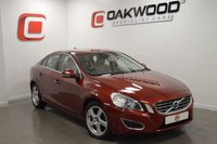 USED 2011 60 VOLVO S60 2.0 D3 SE LUX 4d AUTO 161 BHP *1 OWNER* 1 PRIVATE OWNER FROM NEW