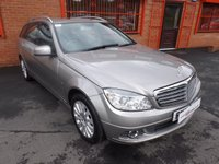 USED 2008 58 MERCEDES-BENZ C CLASS C200 CDI ELEGANCE 2.1 5dr ESTATE S/HISTORY - LEATHER - MOT 9/18