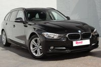USED 2012 62 BMW 3 SERIES 2.0 320D SPORT TOURING 5d 181 BHP FULL HISTORY + DAKOTA LEATHER