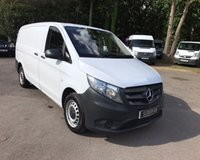 USED 2015 65 MERCEDES-BENZ VITO 114 BLUETEC LWB  New Shape, One Owner