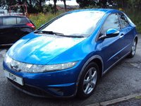 USED 2007 57 HONDA CIVIC 1.8 I-VTEC SE I-SHIFT 5d AUTO 139BHP FSH 6STAMPS+RARE LOW MILES+