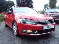 USED 2013 13 VOLKSWAGEN PASSAT 1.6 SPORT TDI BE 5d 104BHP ESTATE FULL SPORTS SPEC+30 ROAD TAX+