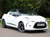 USED 2013 62 CITROEN DS3 1.6 E-HDI DSTYLE PLUS 3dr £94 PCM With £495 Deposit