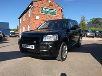 USED 2009 58 LAND ROVER FREELANDER 2.2 TD4 HST 5d 159 BHP This vehicle comes fully serviced, with a 6 MONTHS renewable warranty,12 Months M.O.T, Fully prepared ready for 12 months hassle free motoring.