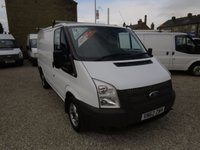 USED 2012 62 FORD TRANSIT 100T 280 2.2TDCi SWB LOW ROOF VAN ONE COMPANY OWNER - 41,000 MILES!!