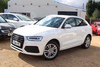 USED 2016 16 AUDI Q3 1.4 TFSI S LINE 5d AUTO 148 BHP Sat Nav, Audi Warranty & more