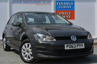 USED 2013 63 VOLKSWAGEN GOLF 1.6 S TDI BLUEMOTION TECHNOLOGY 5d 90 BHP AIR CONDITIONING