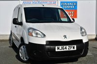 USED 2014 64 PEUGEOT PARTNER 1.6 HDI S L1 850 1d 89 BHP **ONE OWNER**