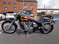 USED 2008 08 HONDA NV400 Shadow Custom Cruiser Beautiful bike in black with orange/yellow flames