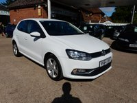 USED 2014 64 VOLKSWAGEN POLO 1.4 SEL TDI BLUEMOTION 5d 89 BHP FULL VW HISTORY AND TWO KEYS,CRUISE,PARK AID