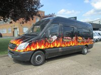 USED 2007 57 MERCEDES-BENZ SPRINTER 2.1 311CDI LWB HIGH ROOF. BURGER VAN. FOOD BUSINESS IDEAL TO MAKE MONEY. PX WELCOME