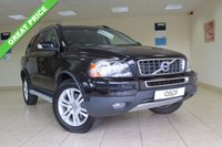USED 2011 11 VOLVO XC90 2.4 D5 SE AWD 5d AUTO 197 BHP SATELLITE NAVIGATION, 7 SEATER, BLACK LEATHER, FRONT AND REAR PARKTRONIC, ELECTRIC FRONT SEATS - DRIVERS WITH MEMORY, REAR PRIVACY GLASS, ALUMINIUM RUNNING BOARDS,