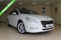 USED 2013 13 PEUGEOT 508 2.0 ALLURE SW HDI FAP 5d 163 BHP 6 SPEED ESTATE SATELLITE NAVIGATION, BLACK LEATHER, PANORAMIC GLASS ROOF WITH ELECTRIC BLIND, ADAPTIVE HEADLIGHTING, RAIN SENSORS, FOLDING REAR SEATS, PRIVACY GLASS, HUGE SPEC TOO MUCH TO LIST