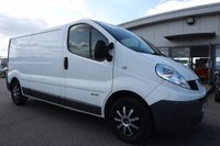 USED 2011 11 RENAULT TRAFIC 2.0 LL29 DCI S/R 1d 115 BHP LOW DEPOSIT OR NO DEPOSIT FINANCE AVAILABLE.