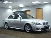 USED 2006 06 BMW 5 SERIES 2.0 520D M SPORT 4d AUTO 161 BHP+++++++ DEPOSIT RECEIVED++++++