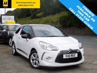 USED 2011 11 CITROEN DS3 1.6 E-HDI DSTYLE 3d 90 BHP BEAUTIFUL LOOKING CAR WITH FULL SERVICE HISTORY AND A LONG MOT, WITH CRUISE CONTROL AND AIR CONDITIONING!